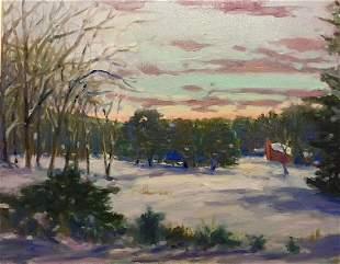 """Berkshire Winter Sketch"", Richard Rosenblatt"