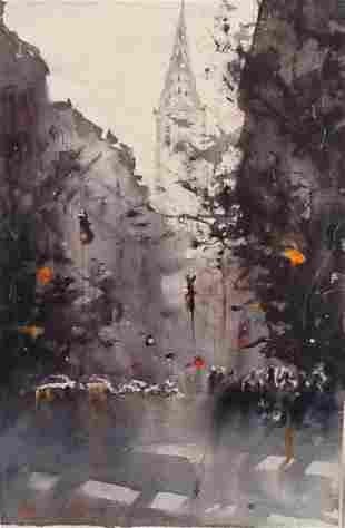 """""""Chrysler, NYC"""", Robert Nardolillo"""