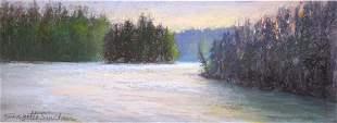 """""""Saint Regis Lake 1"""", Georgette Sinclair"""