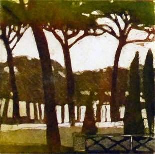 """""""Borgheze Gardens II"""", Joseph Owczarek"""