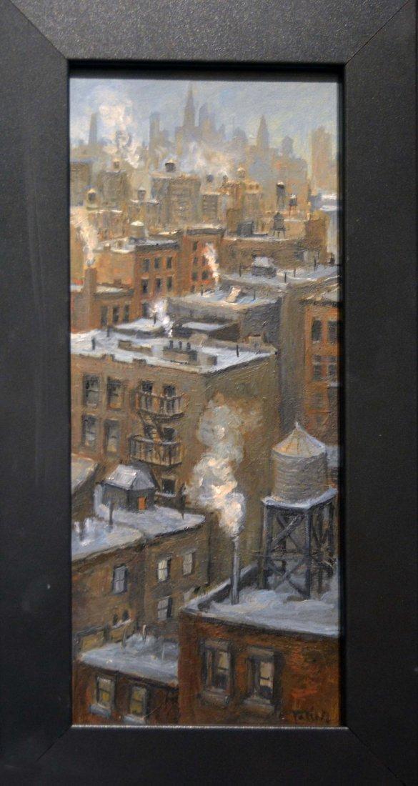 """Snow and Smoke"", Carole Teller"