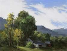 """""""Pawlet Farmhouse"""", Thomas Torak"""