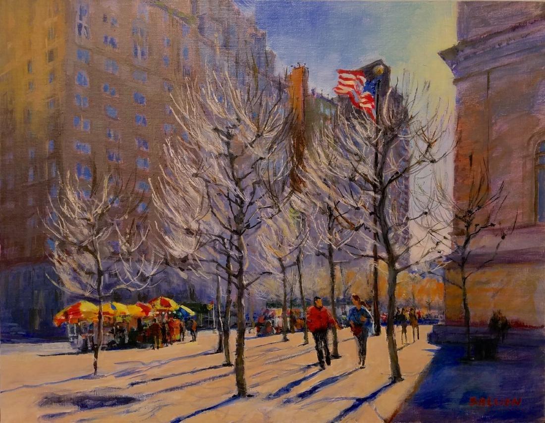 """Fifth Avenue: Late Winter at the Met"", Peter Salwen"