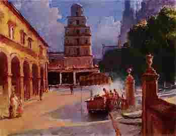 """""""San Miguel de Allende Square"""", Gregg  Kreutz"""