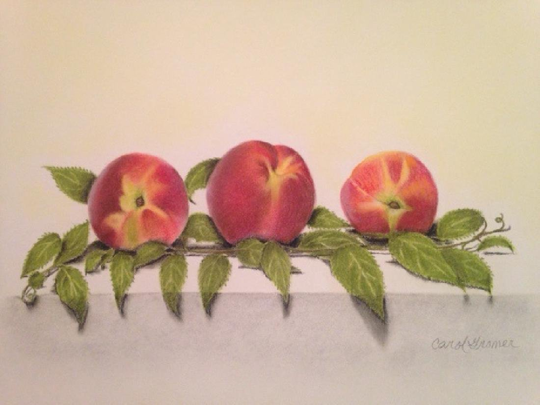"""Just Peachy"", Carol Gromer"
