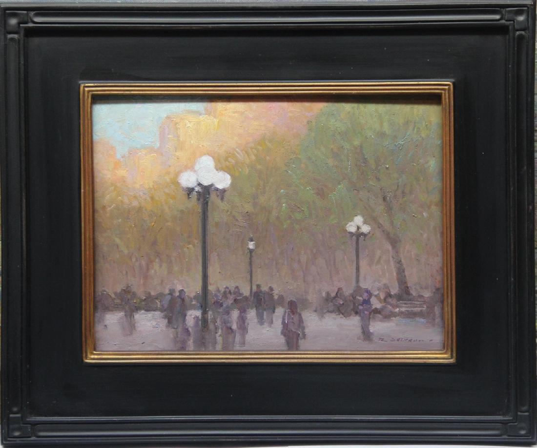 """Washington Square Park at Sunset"", Rick Daskam - 2"