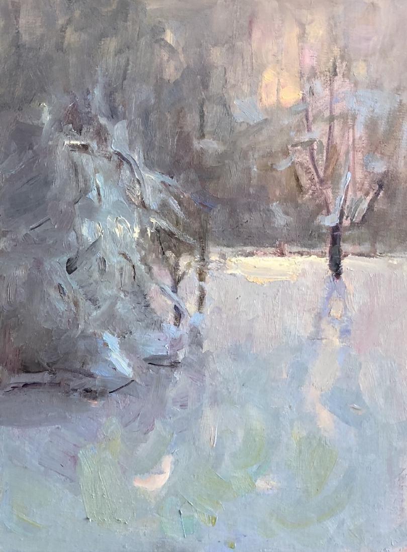 """""""Winter Day"""", Yelena Snovsky"""