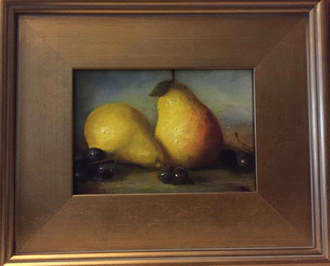 """""""Pear and Grapes"""", Mirelle Duchesne - 2"""