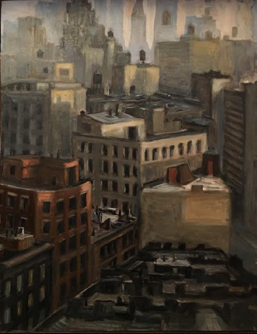 """""""View from the Whitney Museum """", Carole Teller"""