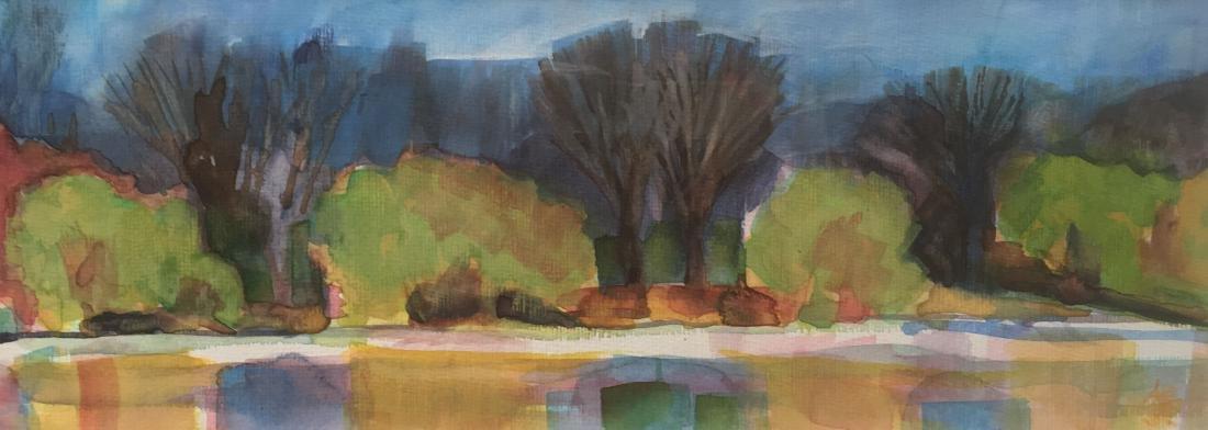 """Central Park in Spring"", Annie Shaver-Crandell"