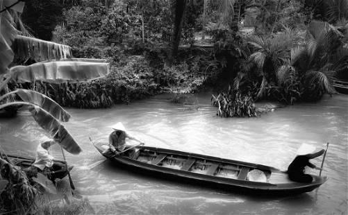 Rowers, Mekong Delta, Mary McKenna Ridge