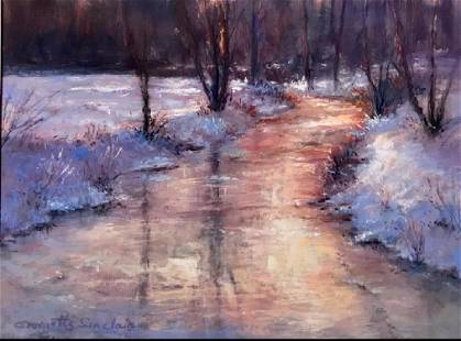Winter Light VT, Georgette Sinclair