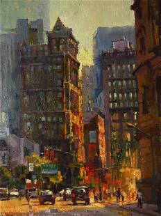 Broadway Afternoon, Christopher Zhang