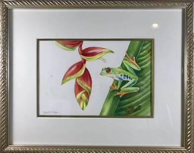 Red Eyed Tree Frog Mindy Lighthipe