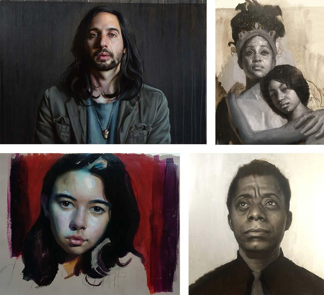 Salmagundi: Marshall Jones Portrait Commission