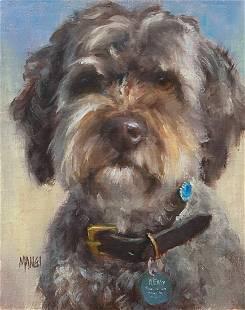 Salmagundi: Johanne Mangi Dog Portrait Commission