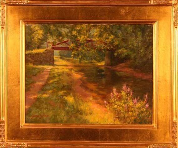 """5: """"Morning Along the Canal,"""" Susan Jositas"""