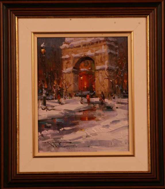 "60: ""Washington Square Arch,"" Mostafa Keyhani"