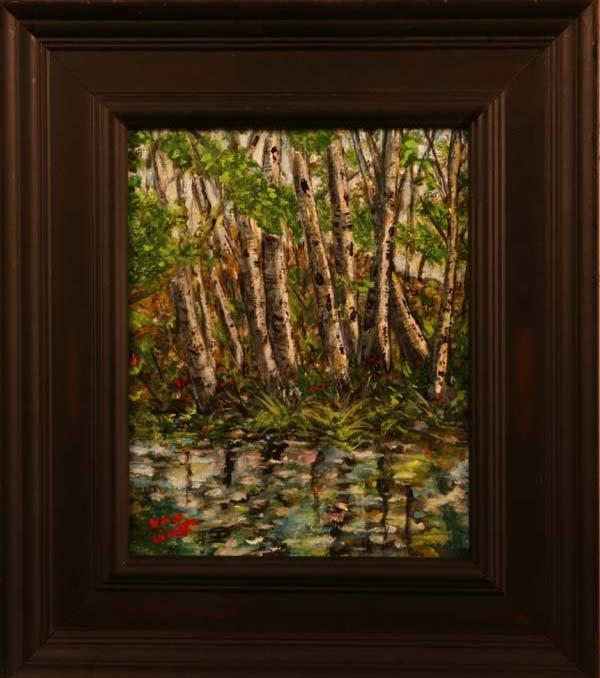 """86: """"Birch Tree Creek,"""" Bob Van Lindt"""