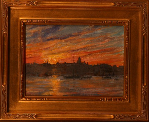 "138: ""Gloucester Sunset,"" Carolyn Jundzilo"