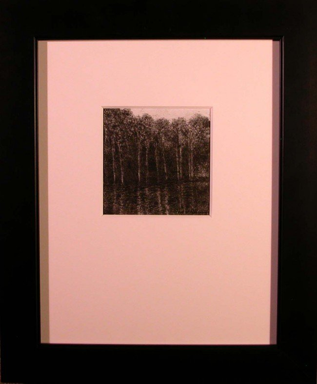 "143: ""Treeline Reflected #2,"" Robert Pillsbury"