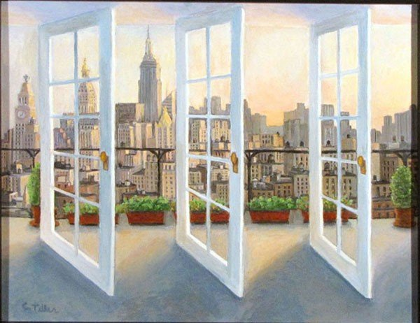 "7: ""Penthouse View"" by Carole Teller"