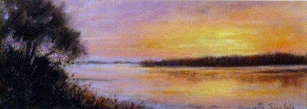 "20: ""Morning Rise, Cape Cod"" by Georgette Sinclair"