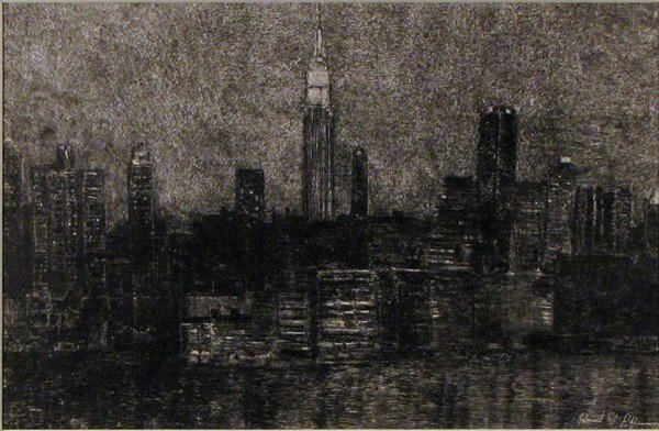 "22: ""NY Skyline"" by Robert Pillsbury"