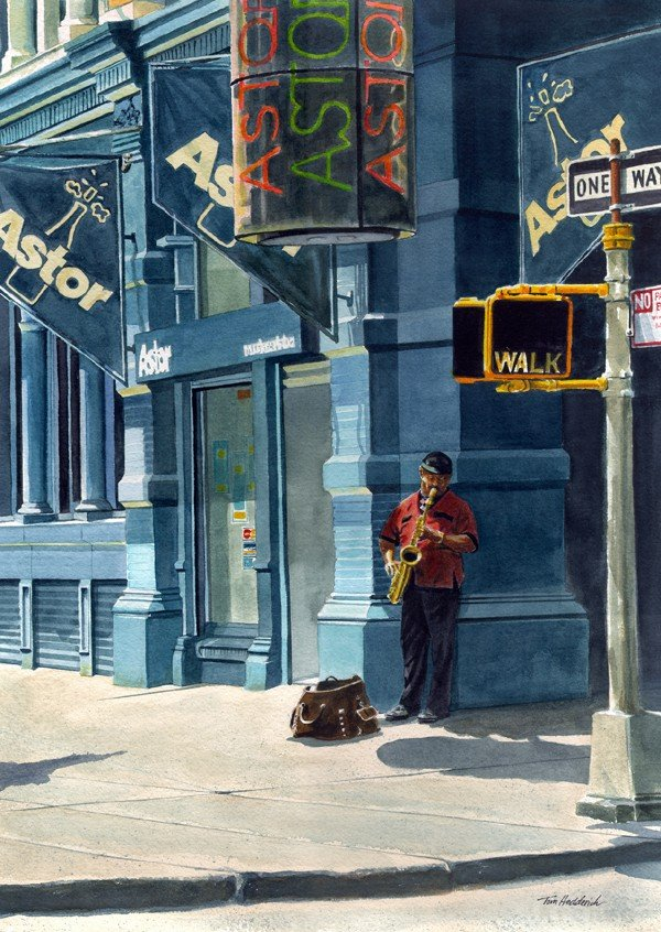 "65: ""Street Musician"" by Tom Hedderich"