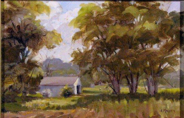 """66: """"Spring Light"""" by James  Magner"""