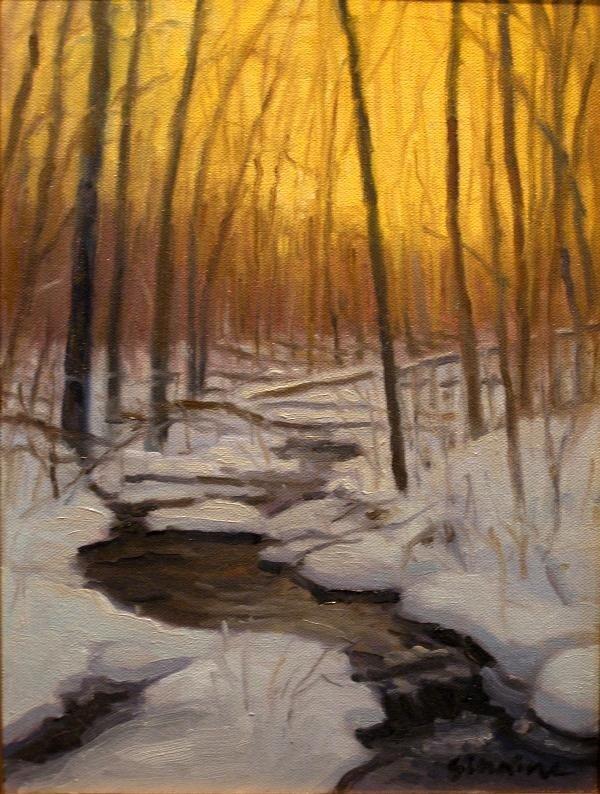 """67: """"Winter Evening"""" by Dennis Sirrine"""