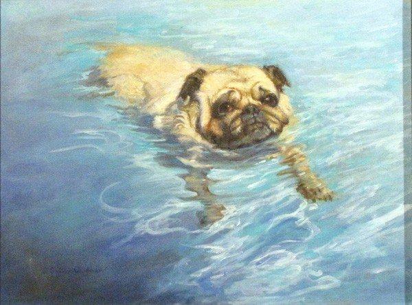 "69: ""The Swimmer"" by Jacqueline Garrick-Waldman"
