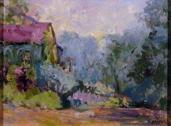 "75: ""May Garden"" by Carol  Kardon"