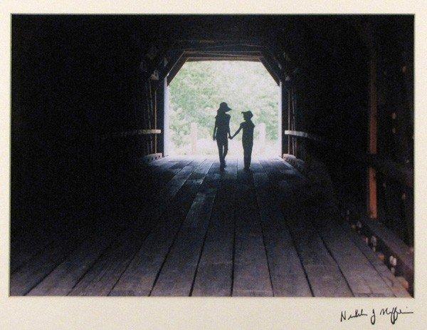 "84: ""Beneath a Covered Bridge"" by Nicholas Maffei"