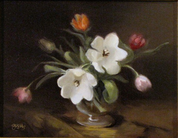 """88: """"Here's to Tulips"""" by Gaile Snow Gibbs"""