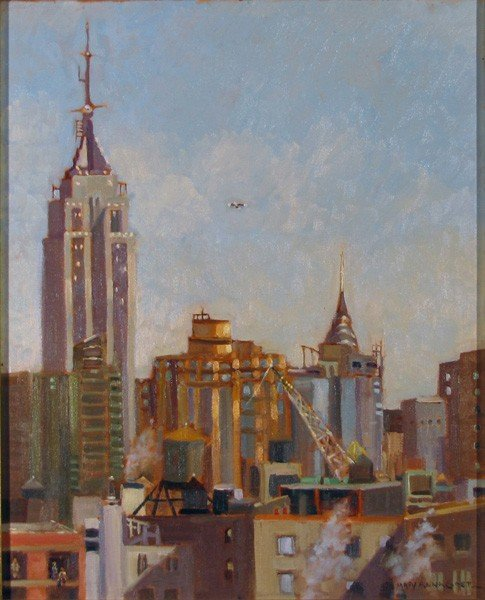 "131: ""Empire State Building, View From Westminster"""