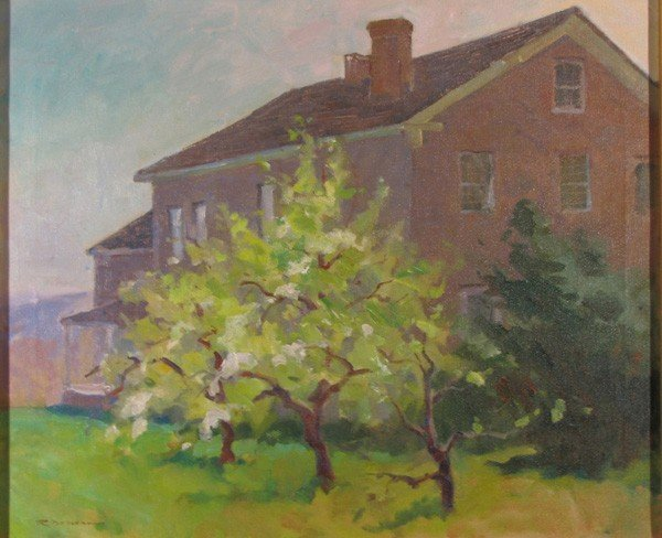 "143: ""Apple Blossoms at Averill Farm"" by Rick Daskam"