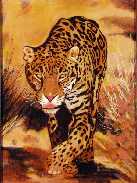 "150: ""Leopard"" by Anthony Santomauro"
