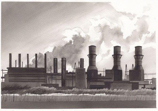 "157: ""Industrial Storm"" by Annie  Patt"