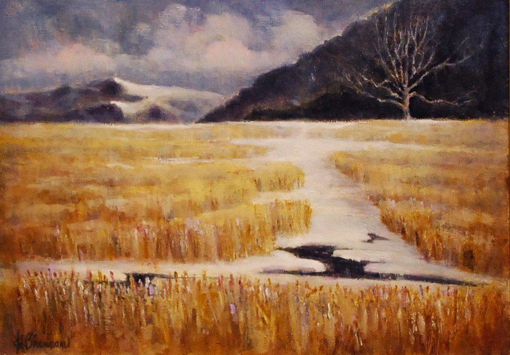 "5: ""Bear Mountain at the Hudson River,"" Ed Brennan"