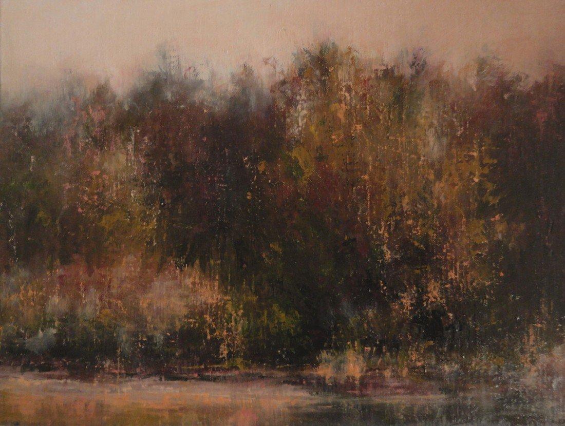 """12: """"Pawling Frog Pond,"""" Julie Hopkins"""