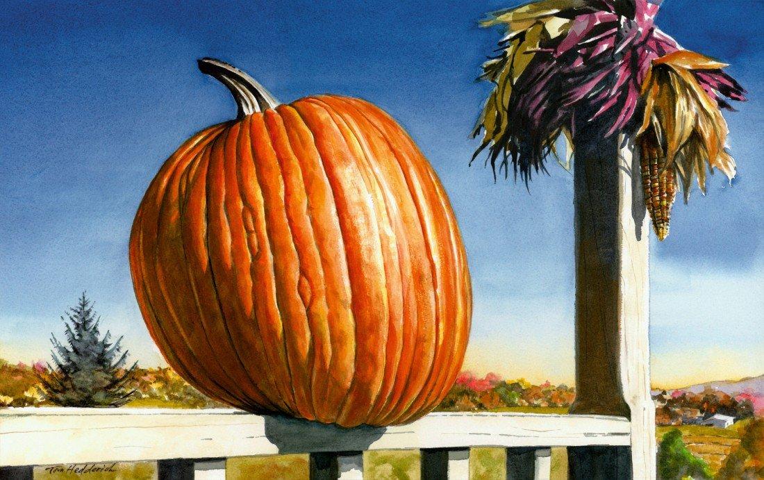 """17: """"Westtown Pumpkin,"""" Tom Hedderich"""