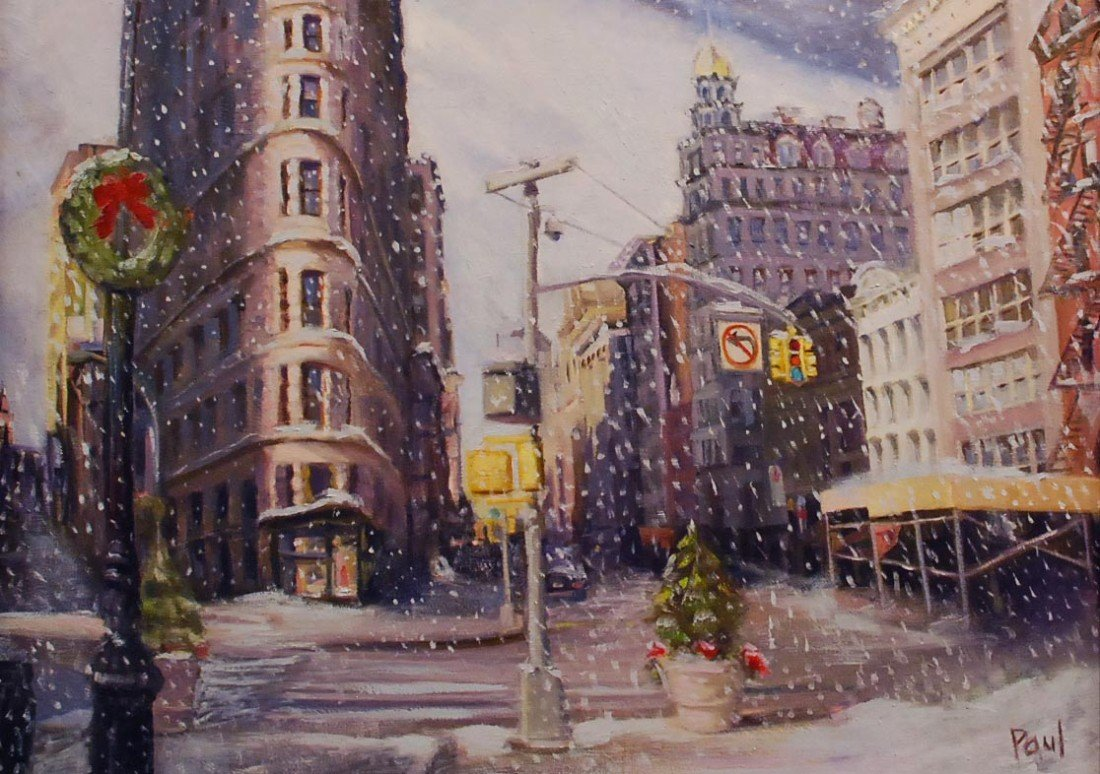 "83: ""Flatiron Winter,"" Sherri Paul"