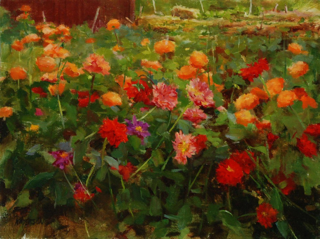 "141: ""Dahlias at Holbrook Farm,"" Kathy Anderson"