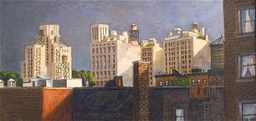 """150: """"View from E. 96 St,"""" Carole Teller"""
