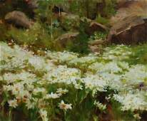 """115: """"Snow White Daises in the Rockies"""", Kathy Anderson"""
