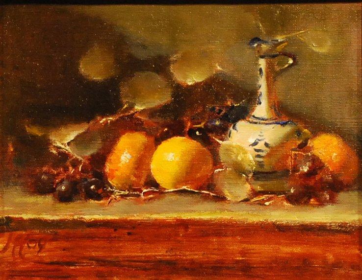 "148: ""Silver Dollars & Orange"", Maureen Hopper"