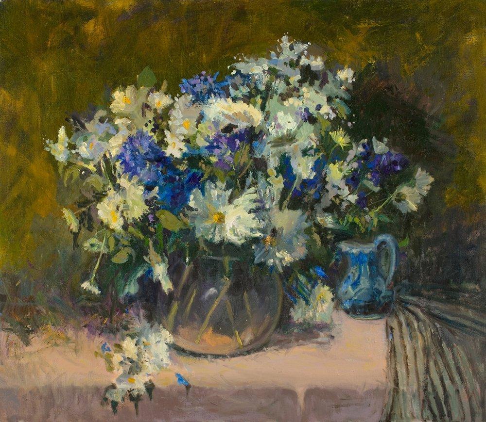 "161: ""April Flowers"", Carol Kardon"