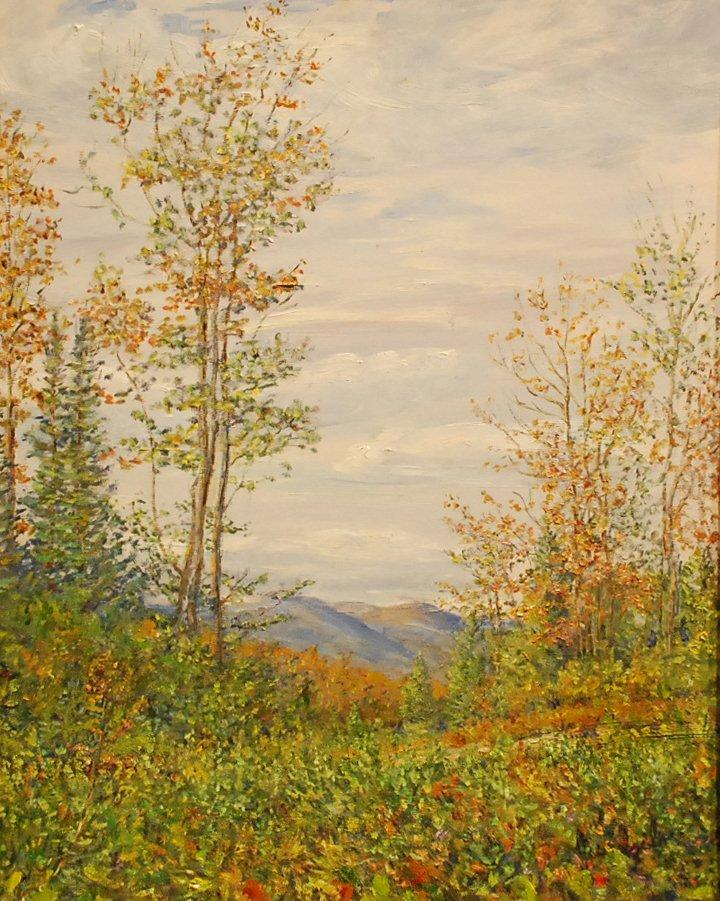 """169: """"Autumn in the White Mountain"""", Carolyn  Jundzilo"""
