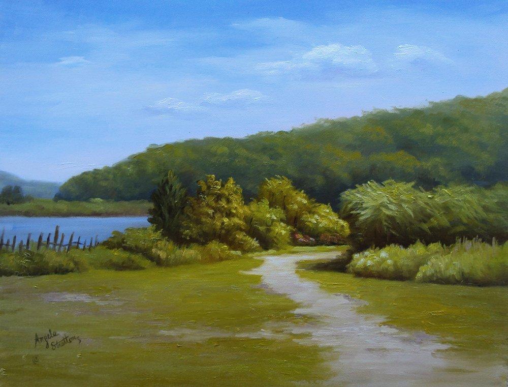 "170: ""Sunken Meadow Path"", Angela Stratton"